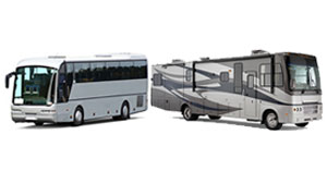 Buses, RVs, and Travel Trailers