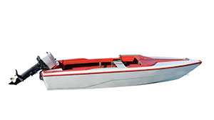 Vehicles ski boat small