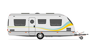 Vehicles travel trailer small
