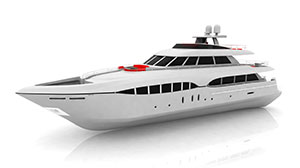Vehicles yacht small